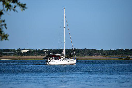 Water, Sea, Summer, Sky, Boat, Sailboat, Yacht, Leisure