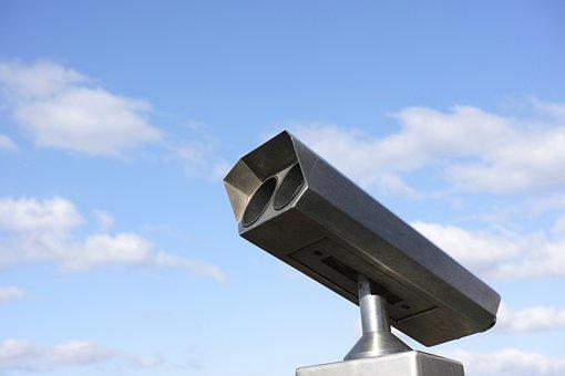 Sky, Surveillance, Outdoor, No One, Blue Sky, Sunset