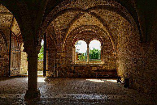 Architecture, Arch, Travel, Building, Monastery, Old