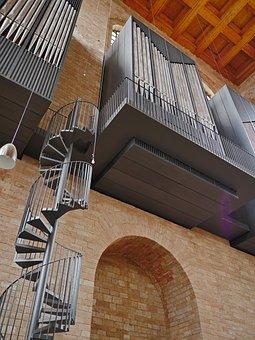 Basilica, Trier, Organ Empore, Access, Spiral Staircase
