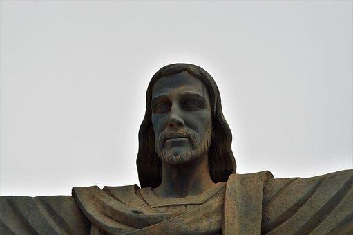 Sculpture, Religion, Statue, Portrait, People, One, Art