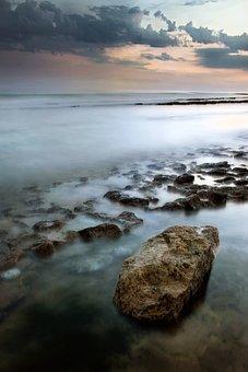 Body Of Water, No Person, Nature, Side, Landscape, Sea