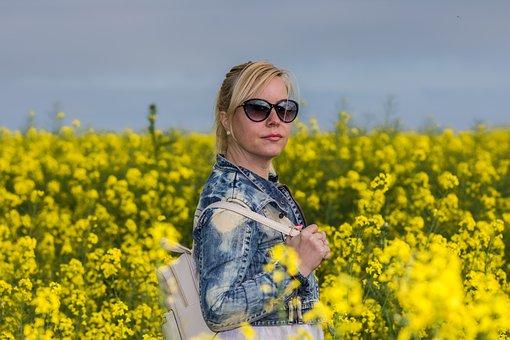 Field, Flower, Nature, Summer, Hayfield