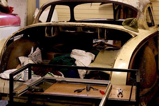 Vehicle, Car, Transportation System, Old, Vintage