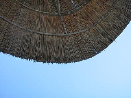 Desktop, Sun, Umbrella, Beach, Paradise