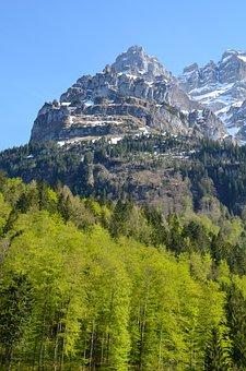 Vrenelisgärtli, Klöntal, Mountain Summit, Massif