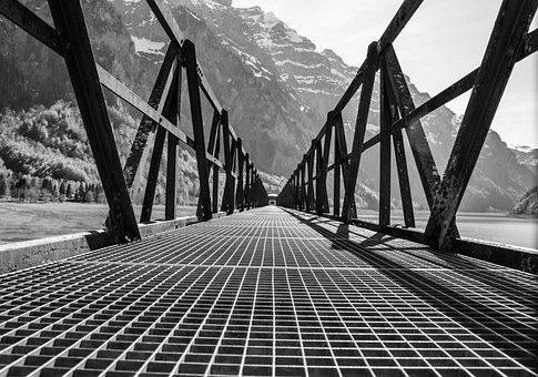 Bridge, Wood, Grid, Away, Target, Web, Architecture