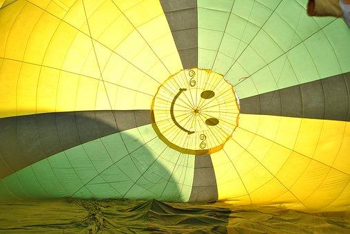 Umbrella, Sky, Air, Hot-air Balloon, Travel