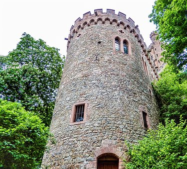 Palace, Gothic, Architecture, Stone, Tower, Old