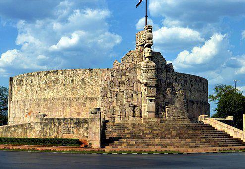 Architecture, Mexico, Travel, At The Age Of, Sky