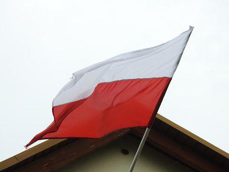Flag, At The Court Of, Patriotism, White-red