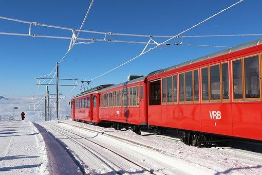 Transport, Travel, Train, Railway, Heaven, Blue Sky