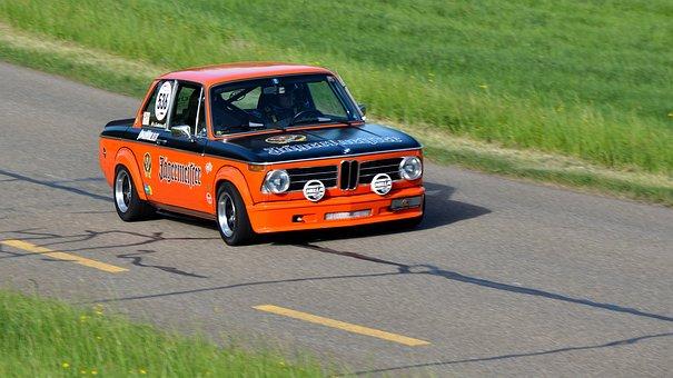 Racing Car, Jägermeister, Bmw 2002 Tii, Oldtimer