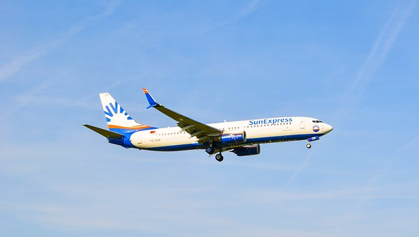 Aircraft, Jet, Sun Express, Landing, Fly, Boeing, 737