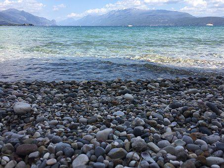 Waters, Costa, Rock, Beach, Lake, Rocks, Nature, Stones