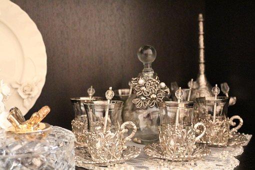 No One, Wallpaper, Crystal, Glass, Antique, Elegant