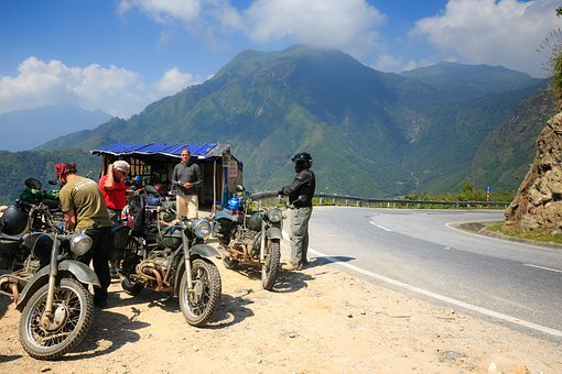Visitors, Foreign, Discover, Vietnam, Motor, Pass, Sapa