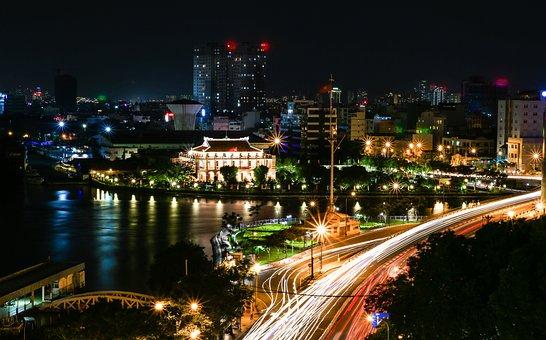 The City, Ho Chi Minh, Dragon House Wharf, Vietnam