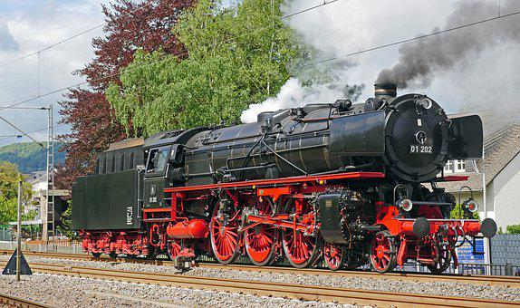 Steam Locomotive, Express Train, Maintained, Br01