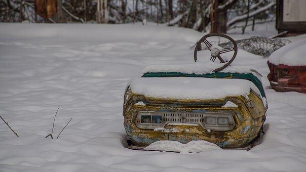 Bumper Car, Pripyat, Theme Park, Fairground, Ukraine