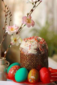 Flower, Easter, Food, Easter Cake, Eggs, Easter Eggs