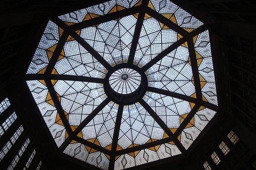 Glass, Architecture, Window, Church, Blanket, Dome, Art