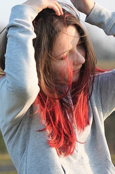 Young, Woman, Girl, Human, Hair, Pretty, Face, Red Hair