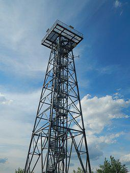 Lookout, Height, Monument, Transmitter, Landscape