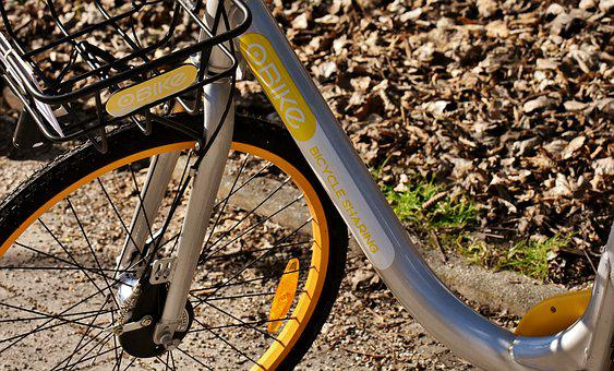 City Bike, Obike Munich, Bicycle, Rental Bike, Rent