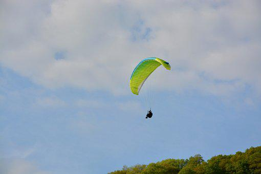 Paragliding, Paraglider, Fly, Leisure Sports