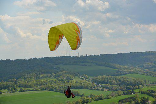 Paragliding, Leisure Sports, Free Flight, Paraglider