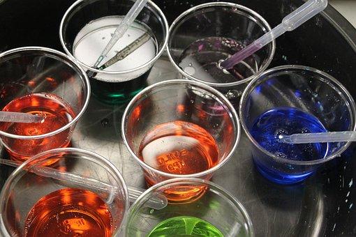 Glass, Color, Science, Preschool, Watercolor, Colorful
