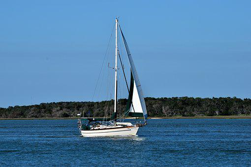 Water, Sailboat, Sail, Yacht, Sea, Boat, Summer, Travel