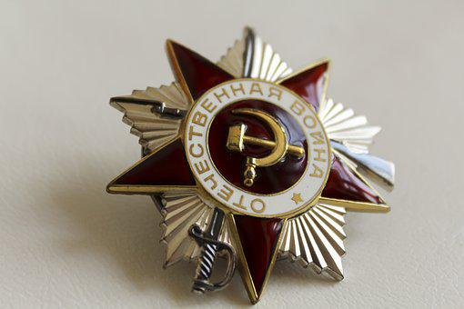 Symbol, Old, Star, A Red Star, Metal, Closeup, Victory