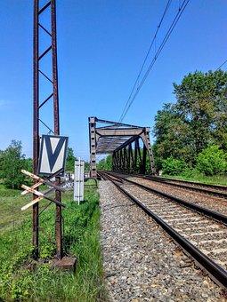 Train Track, Railway Line, Train