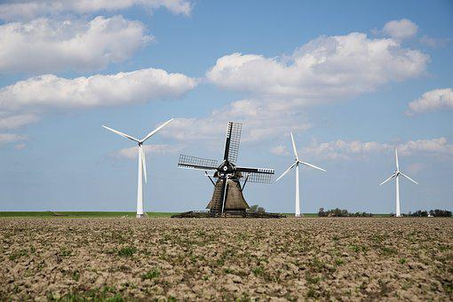 Wind Mill, Turbine, Electricity, Energy, Ability