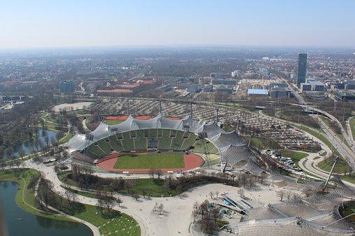 City, Architecture, Urban Landscape, Aerial View