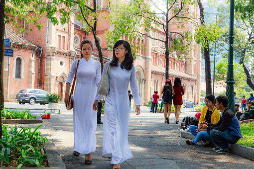 Vietnam, Long Coat, Page, The Tradition, The City