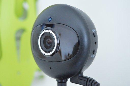 Webcam, Close, Technology, Camera, Pc