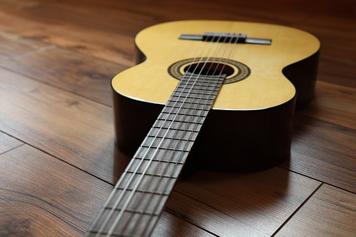 Guitar, Strings, Music, Instrument, Wood, Woods, Sound