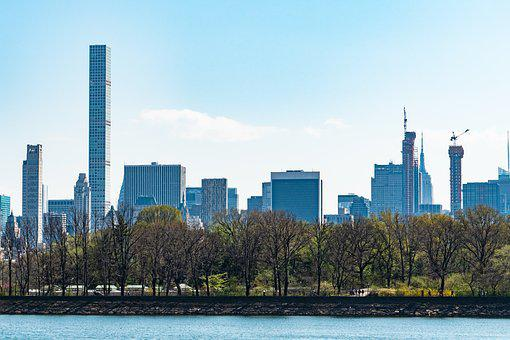 New York City, Central Park, Spring, Architecture, City