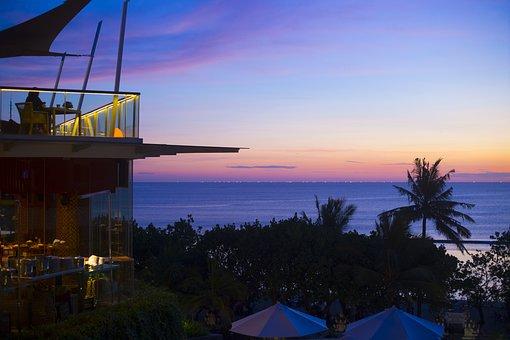 Water, Travel, Sea, Sunset, Sky, Bali, Island