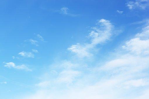 Natural, Summer, Sky, Wallpaper, Blue Sky, Denmark