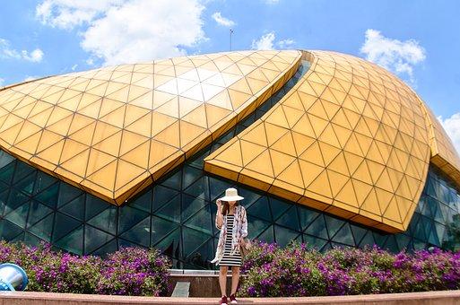 Dalat, Vietnam, Girl, Create, Architecture, Build, Icon