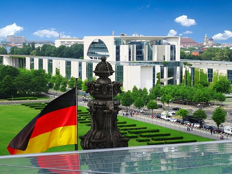 Architecture, City, Chancellery, Berlin, Building