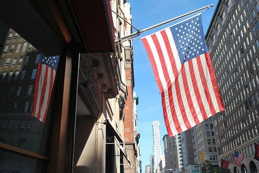 Flag, Patriotism, City, Democracy, Administration, Usa