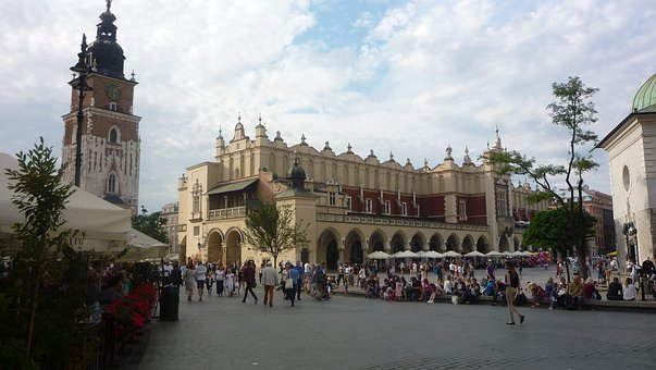 Kraków, Poland, Main Market, Cloth Hall Sukiennice