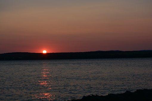 Sunset, Body Of Water, Dawn, Twilight