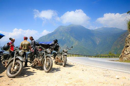 Visitors, Foreign, Discover, Vietnam, Motor, Pass, Sapa