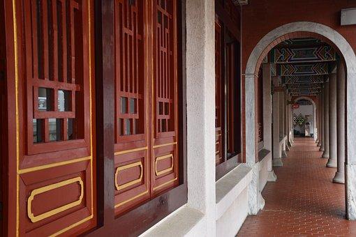 Architecture, Door, Doorway, House, Entrance, Temple
